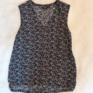 Kate Spade Saturday sleeveless blouse m